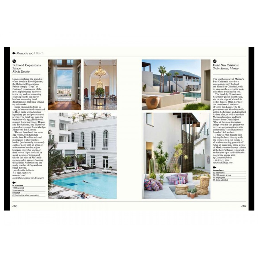 The Monocle Guide to Hotels, Inns and Hideaways, 35,00 €