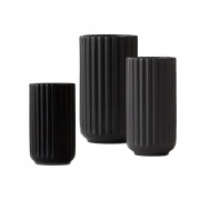 Lyngby Vase Collection / black