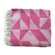 Merino Plaid Pink