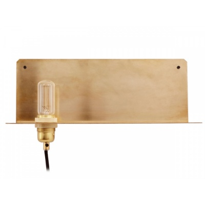 90° Wall Light / brass