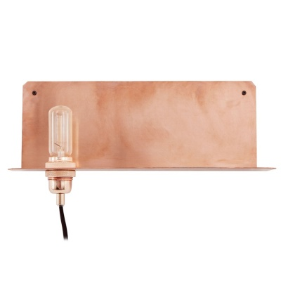 90° Wall Light / copper