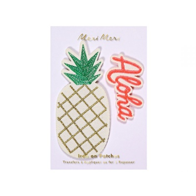 Aloha Pineapple Patches