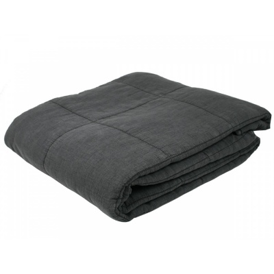 Cotton Blanket Charcoal