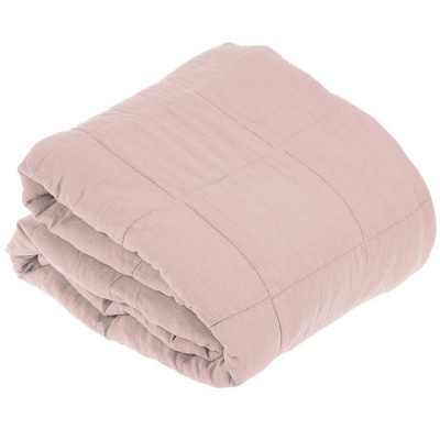 Cotton Blanket Soft Pink / 240 x 260 cm