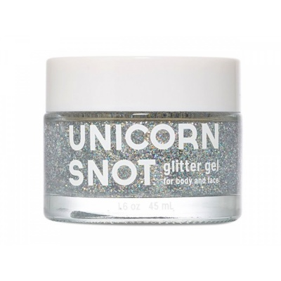 Face & Body Glitter Gel / silver