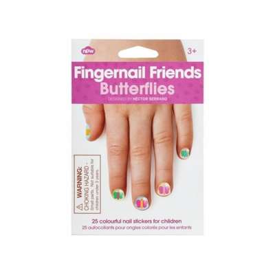 Fingernail Friends Butterfly