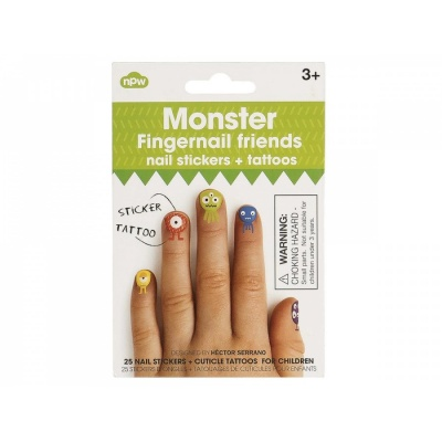 Fingernail Friends Monster