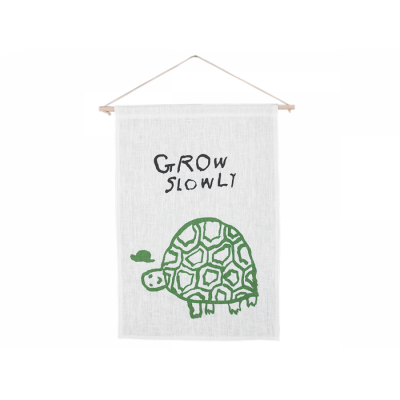 Grow Slowly Wall Hanging