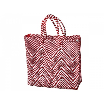 Handtasche Oaxaca S / red-white