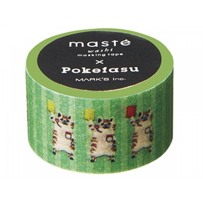 Masking Tape Pokefasu Green