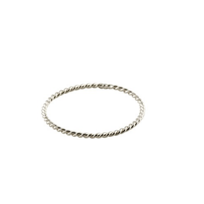 Ring BRAID SILVER
