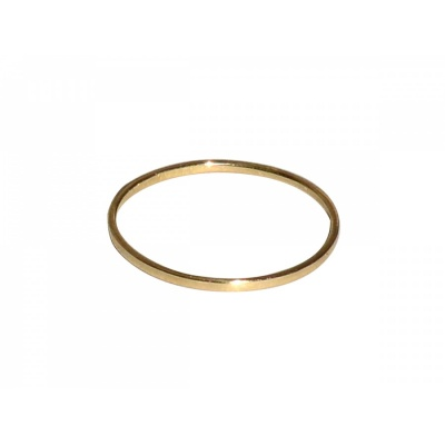 Stripe Ring No.1 / gold