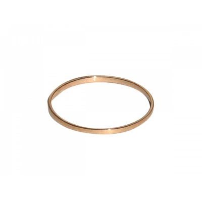 Stripe Ring No.1 / rosegold