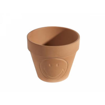 Topf Terracotta Smiley XS