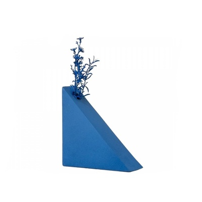 Vase TRIANGLE BLUE