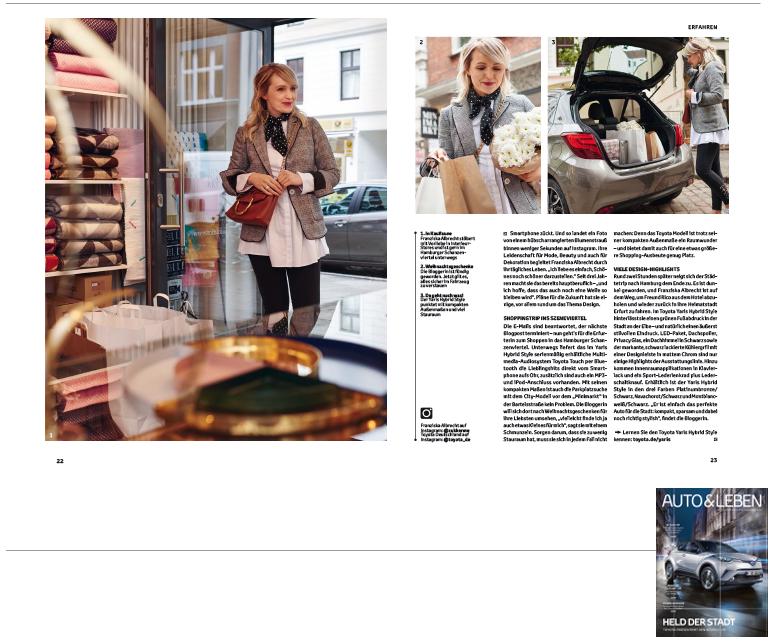 Minimarkt in der AUTO und LEBEN Ausgabe 04 2016