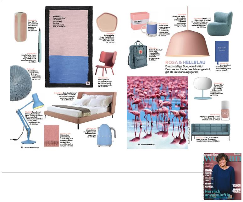 Minimarkt in der BRIGITTE WOMAN Ausgabe 5 2016
