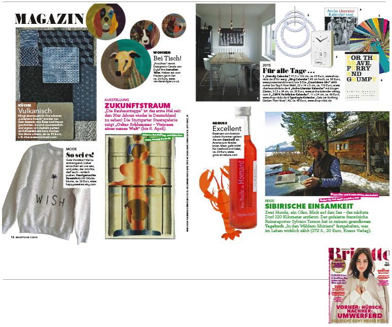 Brigitte Ausgabe 1 2015