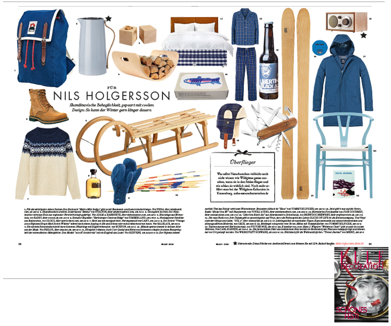 Minimarkt in der ELLE DECORATION Ausgabe 6 2014