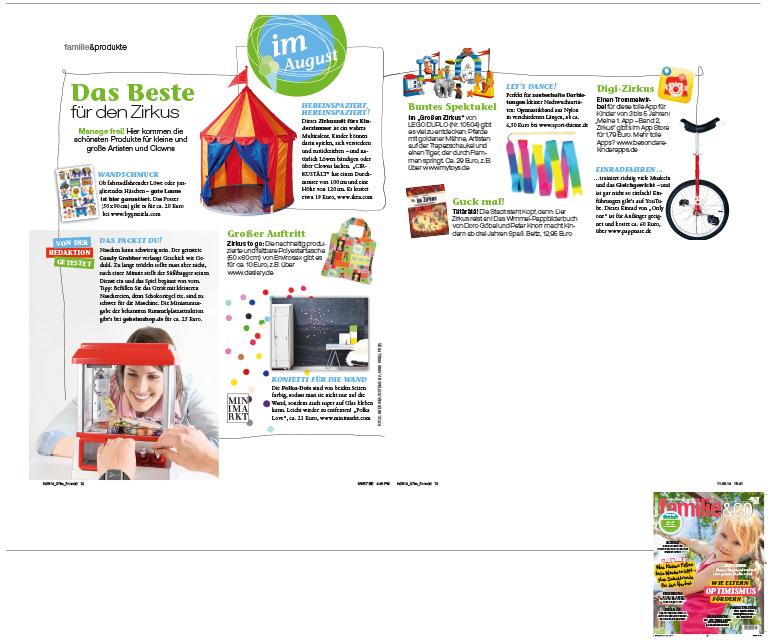 Familie&Co Ausgabe August 2014