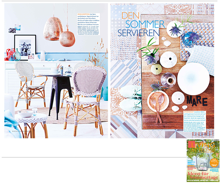 Minimarkt in der LIVING AT HOME Ausgabe 8 2014