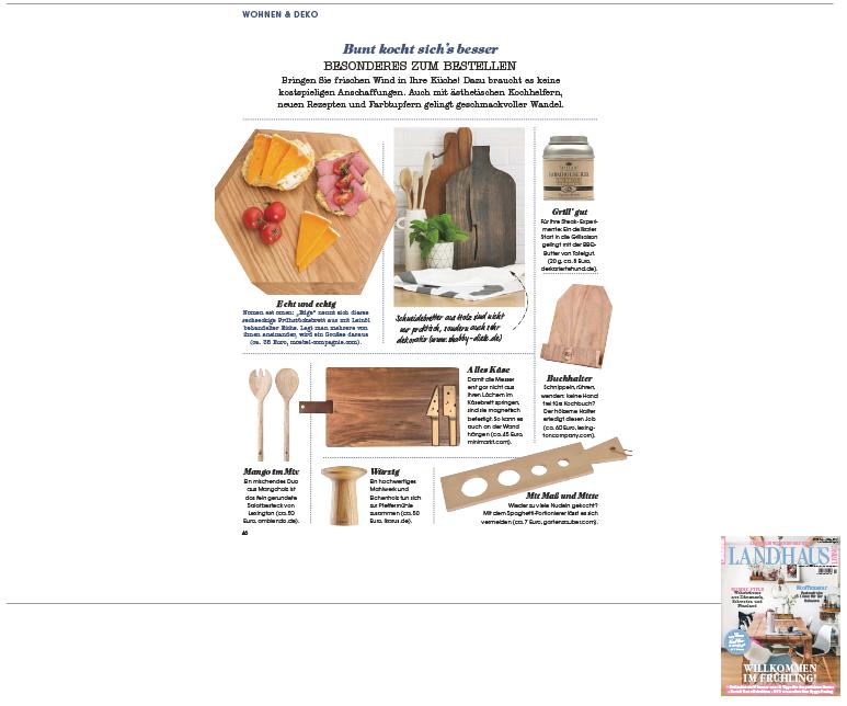 Minimarkt in der Landhaus Living Ausgabe 2 2018