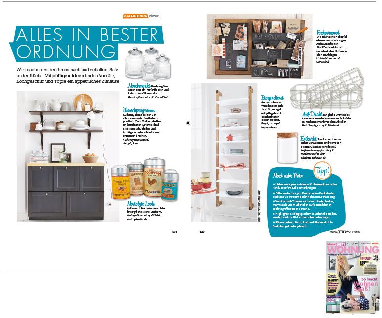 Minimarkt in der MEINE ERSTE WOHNUNG Ausgabe 2015 / 2016