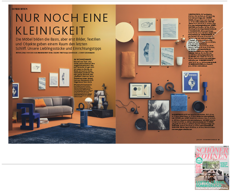 Minimarkt in der Schoener Wohnen Ausgabe 6 2017