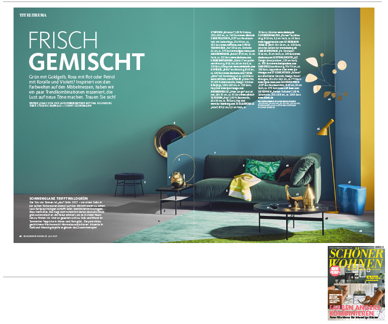 Minimarkt in der Schoener Wohnen Ausgabe 7 2017