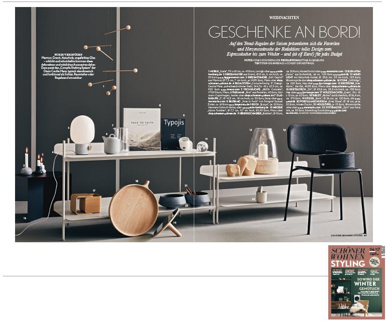 Minimarkt in der Schoener Wohnen Styling Ausgabe 4 2017