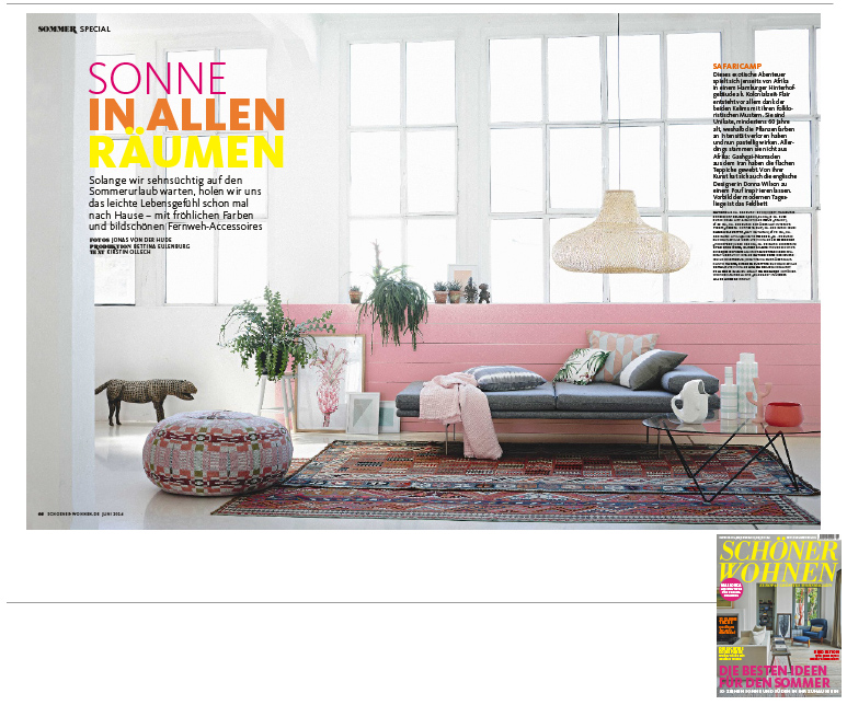 Schöner Wohnen Ausgabe 6 2014