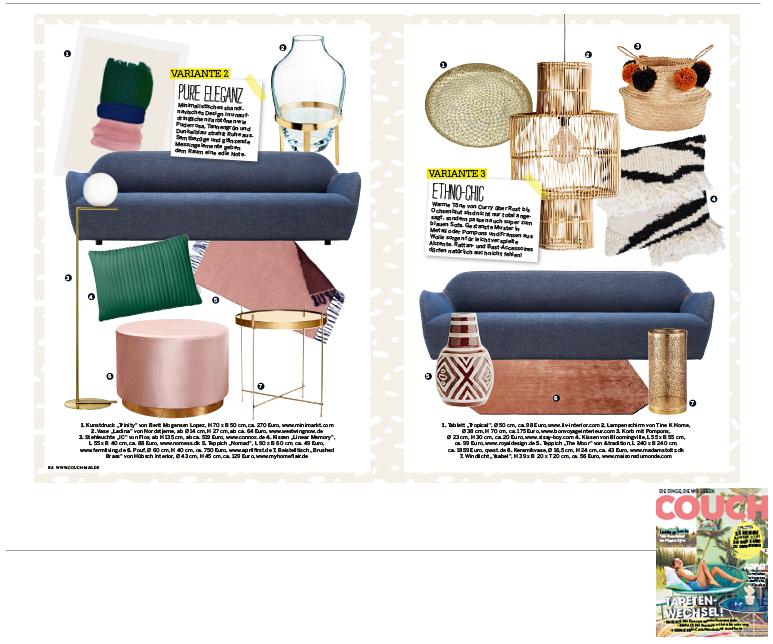 Minimarkt in der COUCH Ausgabe 08 2017