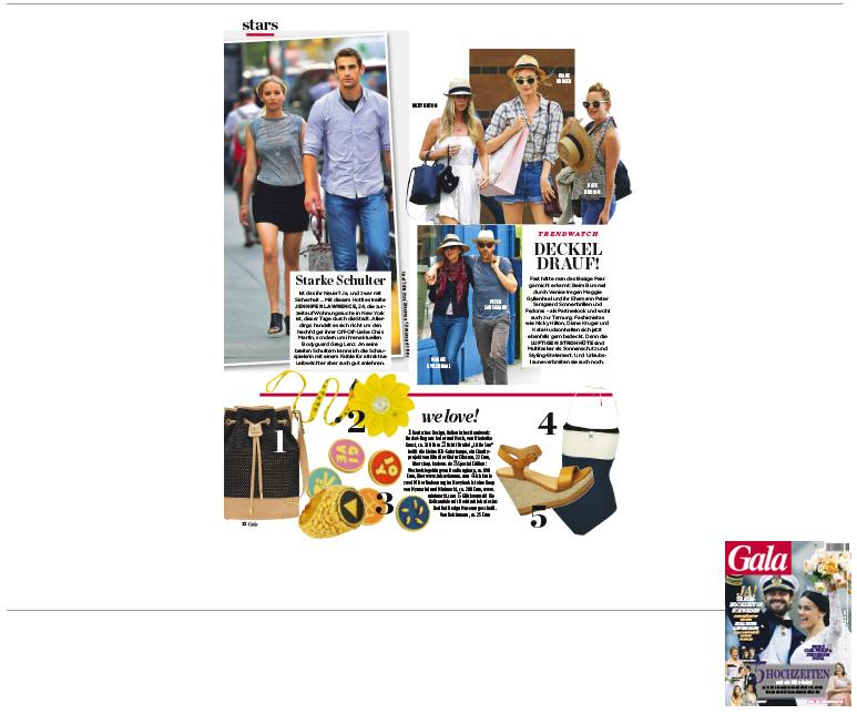 Minimarkt in der GALA Ausgabe 26 2015