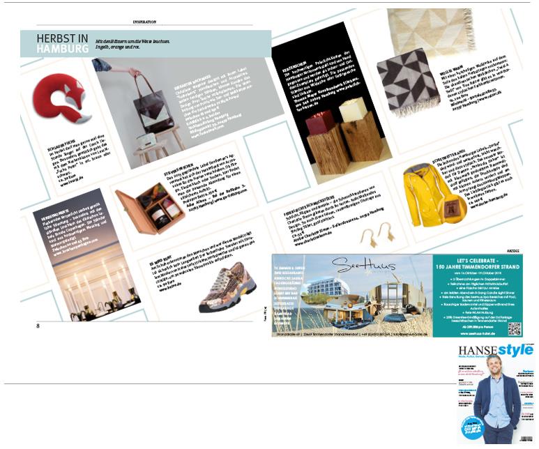 Minimarkt in der HANSESTYLE Ausgabe 3 2015
