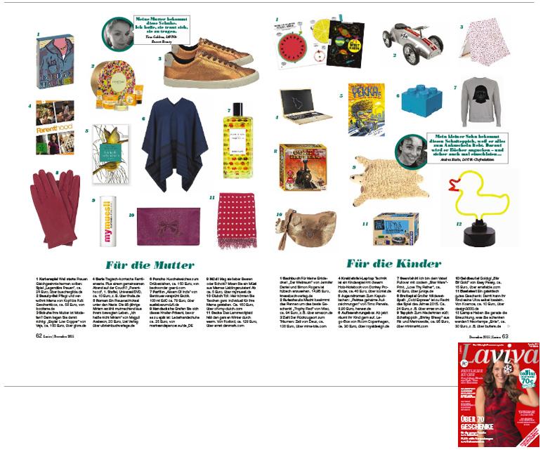 Minimarkt in der LAVIVA Ausgabe 12 2015