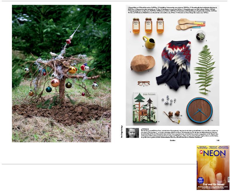 Minimarkt in der NEON Ausgabe 12 2014