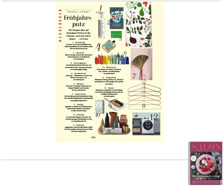 Minimarkt in der SALON Ausgabe 10 2017