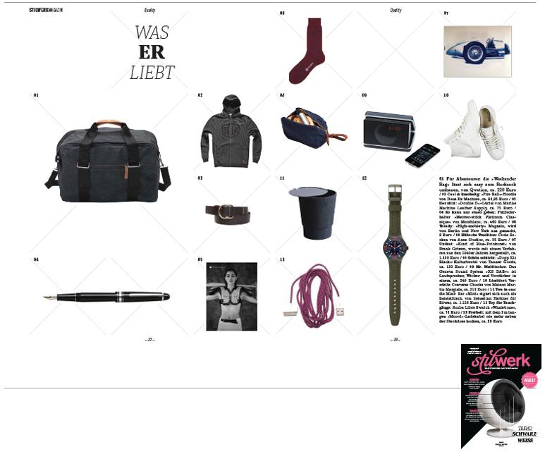 Stilwerk Ausgabe 4 2013