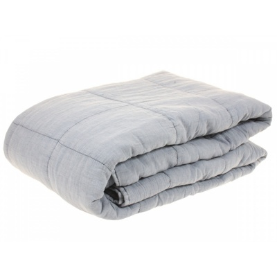 Bed Cover Pale Blue / 200x230 cm