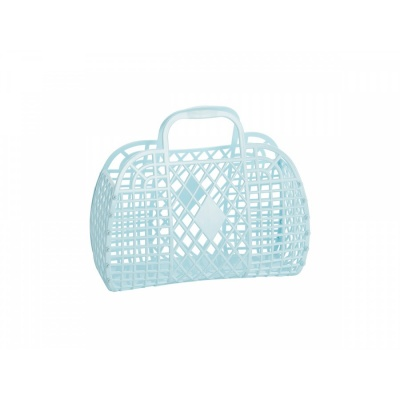 Blue Retro Basket / S