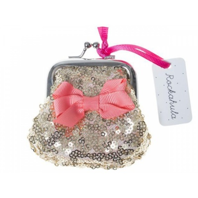 Kindertasche Sequin Purse / gold