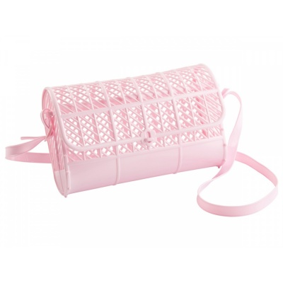 Pink Jelly Purse