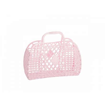 Pink Retro Basket / S