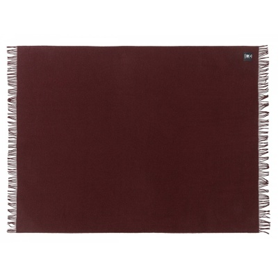Wolldecke ATHEN / raisin purple