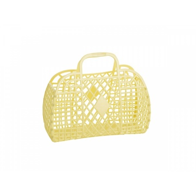 Yellow Retro Basket / S