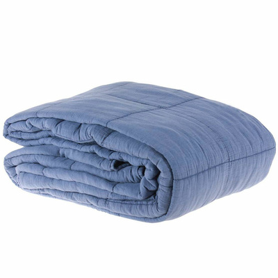 Bed Cover Dusty Blue / 200x230 cm