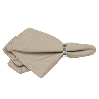 Serviette WILLE / simply taupe