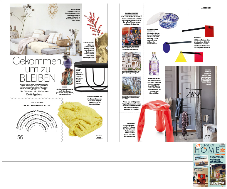 Minimarkt in der Sense of Home Ausgabe 3 2019